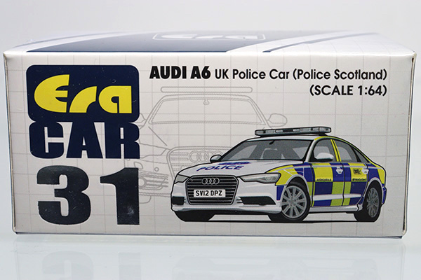 Era Car  #31 Audi A6 England Police Car Scotland 1//64
